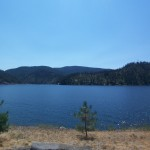 The lovely lake in Coeur D'Alene, Idaho.